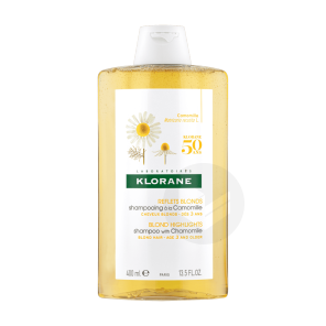 Shampoing Eclaircissant Reflets Blonds A La Camomille 400 Ml