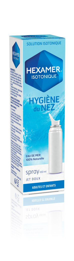 Hexamer Isotonique Hygiene Du Nez Spray 100 Ml