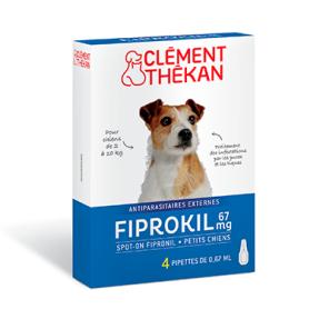 Fiprokil 67 Mg Spot On Petit Chien 2 10 Kg X 4