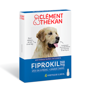 Fiprokil 268 Mg Spot On Grands Chiens 20 40 Kg