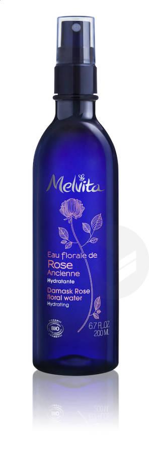 Eau Florale De Rose Flacon Brumisateur 200 Ml