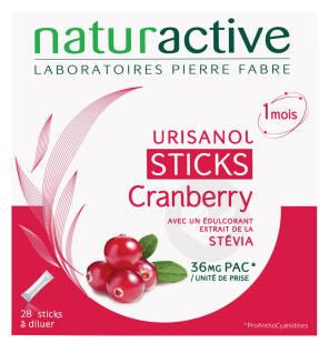 Urisanol Cranberry Stevia 28 Sticks