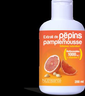 Extrait De Pepins De Pamplemousse 200 Ml