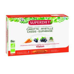 Quatuor Euphraise Vision Bio 20 Ampoules De 15 Ml