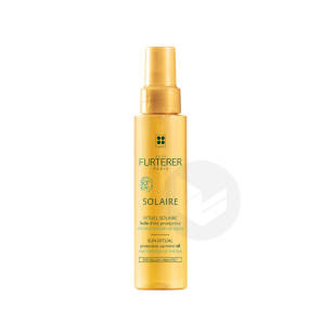 Huile Dete Protectrice Cheveux Exposes Au Soleil 100 Ml