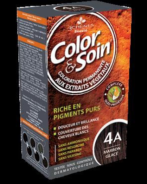 Color Et Soin Coloration Permanente Marron Glace 4 A