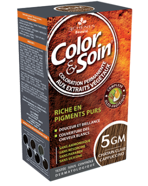 Color Et Soin Coloration Permanente Chatain Clair Cappuccino 5 Gm