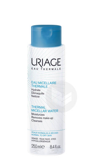 Eau Micellaire Thermale Peaux Normales A Seches 250 Ml