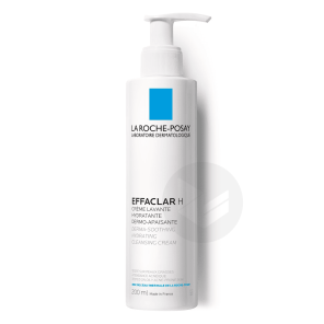 Effaclar H Creme Lavante Hydratante Et Dermo Apaisante 200 Ml
