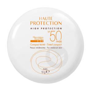 Haute Protection Compact Teinte Dore Spf 50 10 G