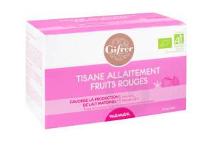 Tisane Allaitement Fruits Rouges 20 Sachets