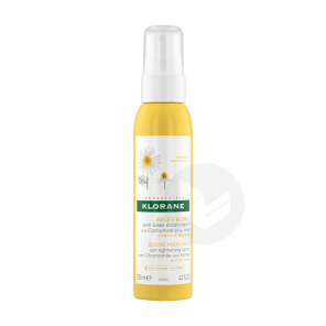 Soin Soleil Spray Eclaircissant Reflets Blonds A La Camomille 125 Ml