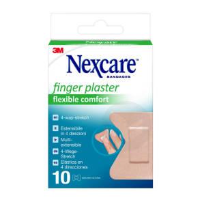 Pansements Pour Les Doigts Nexcare Flexible Comfort 44 5 Mm X 51 Mm X 10