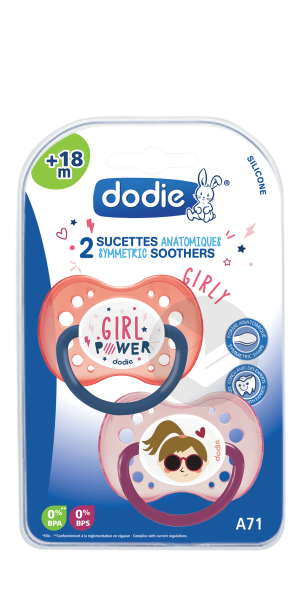 Sucette 18 Mois Duo Girly A 71