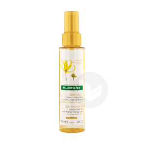 Huile Protectrice Solaire A La Cire De Ylang Ylang 100 Ml