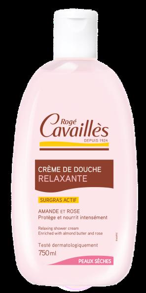 Creme De Douche Relaxante Amande Rose 750 Ml