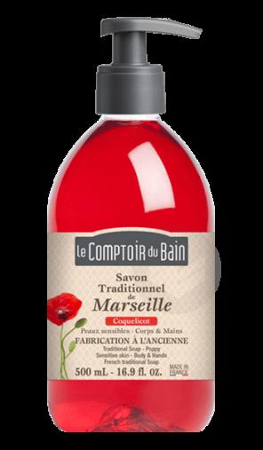 Savon Liquide De Marseille Coquelicot 1 L