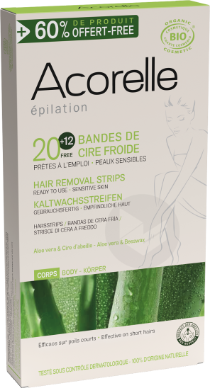 Bandes De Cire Froide Corps Pack Edition Limitee X 32