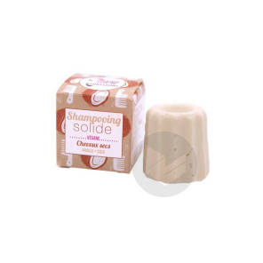 Shampoing Solide Cheveux Secs Vanille Coco
