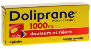 1000 Mg Gelules Plaquette De 8