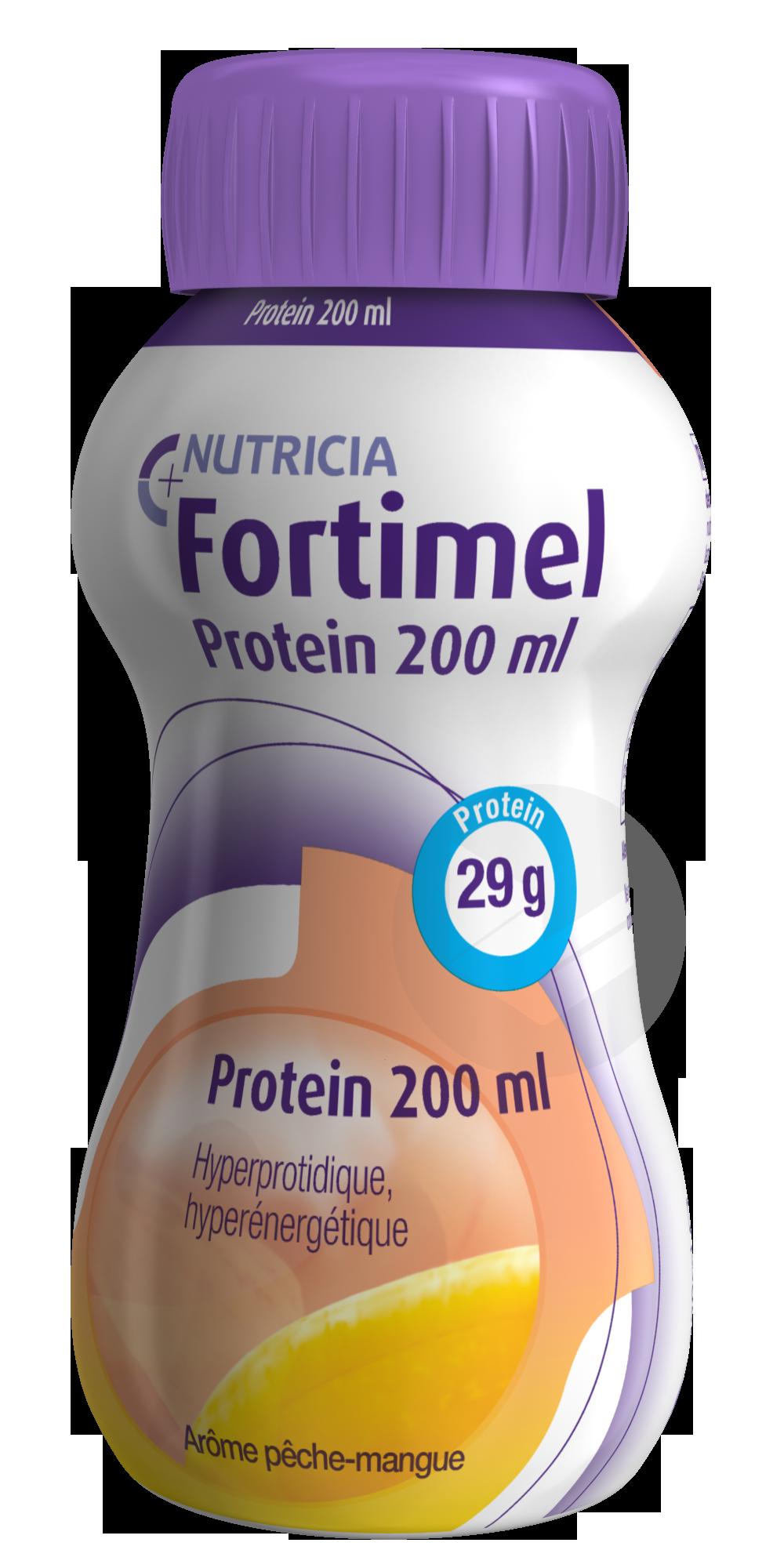 Fortimel Protein Pêche-mangue 200 ml