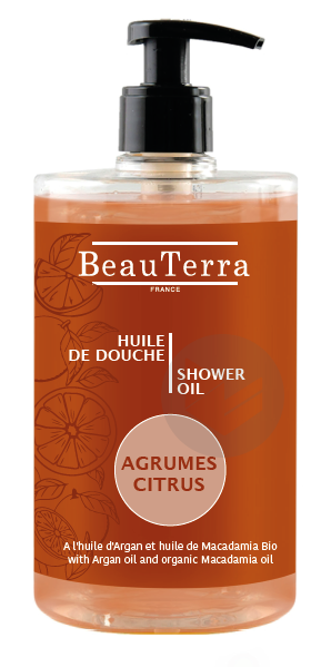 Huile de douche - Agrumes -750ml
