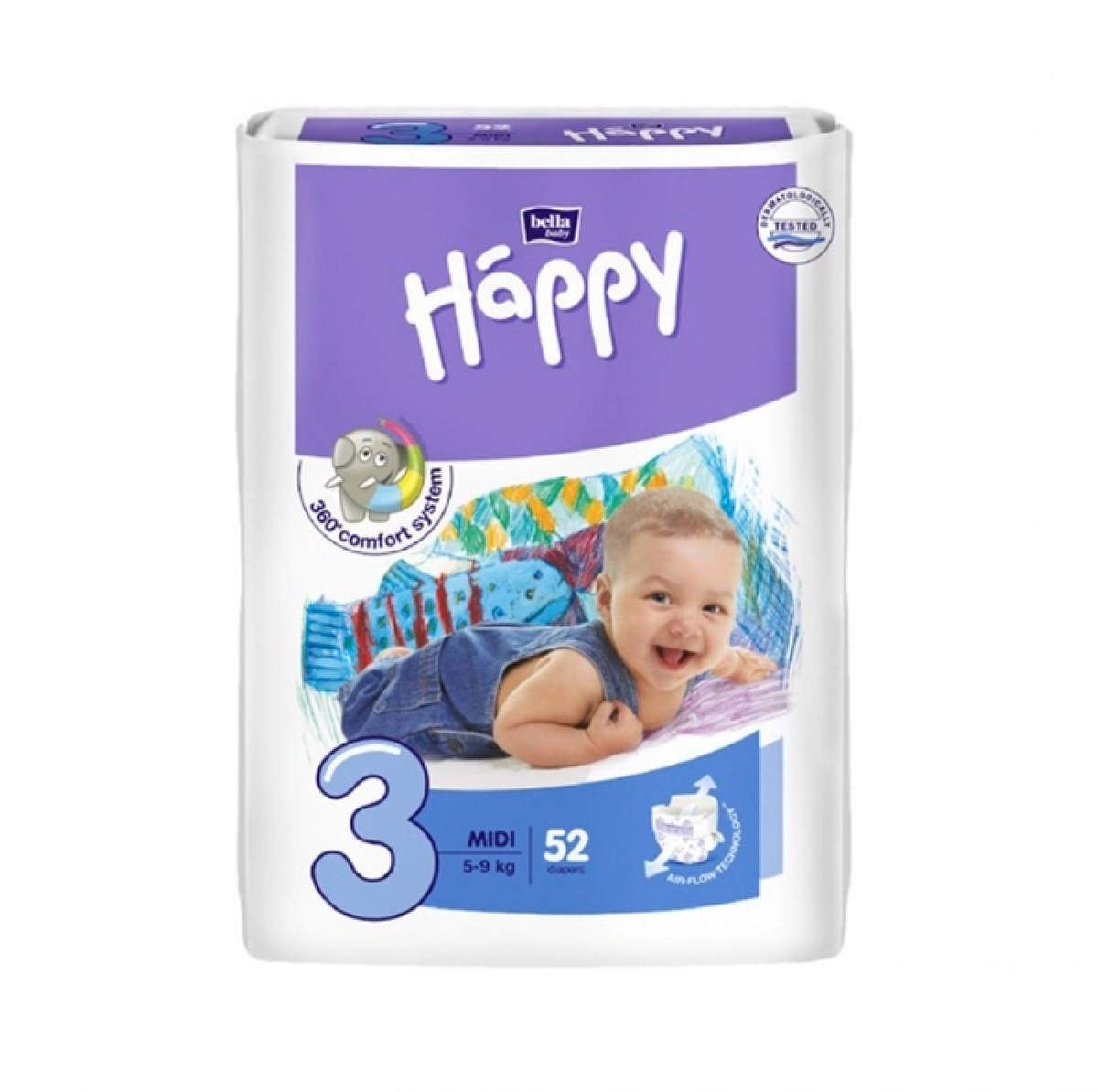 Bella Baby Happy Couche Bebe T 3 5 A 9 Kg Sach 52