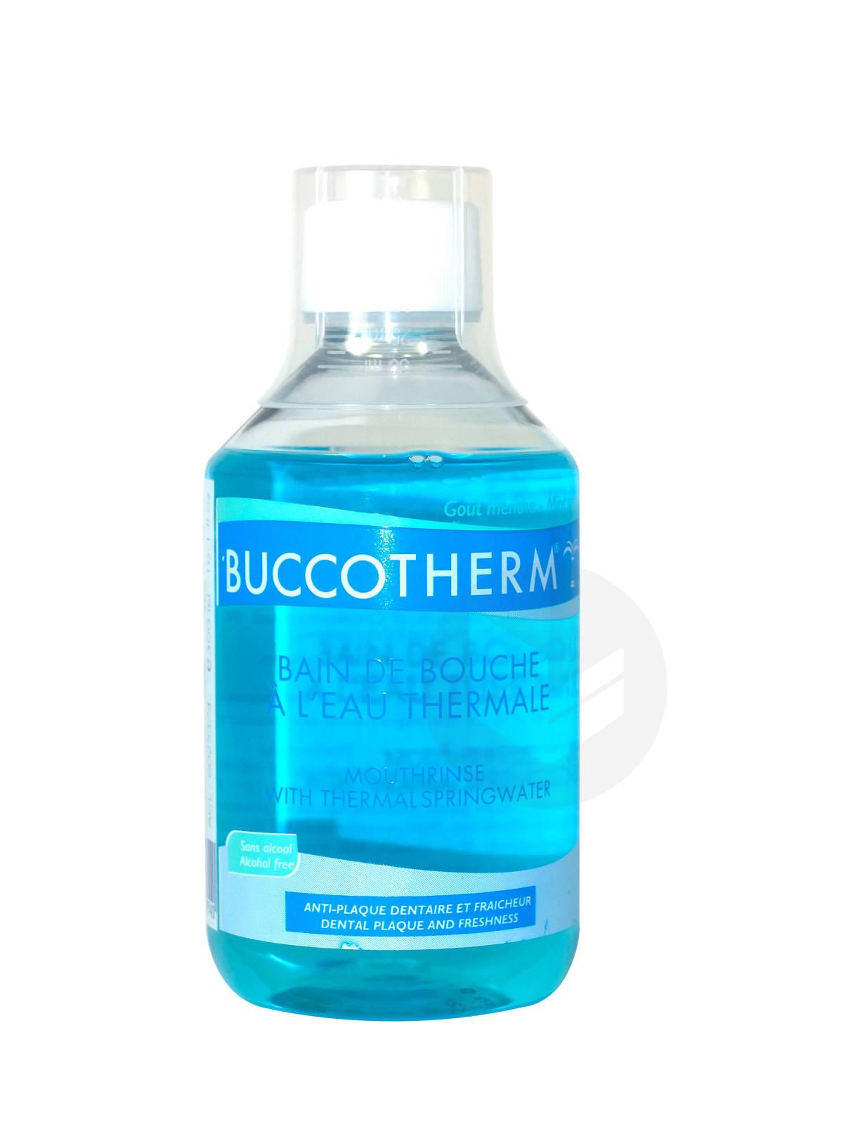 Bain de bouche Bio à l'Eau Thermale Sans alcool 300ml