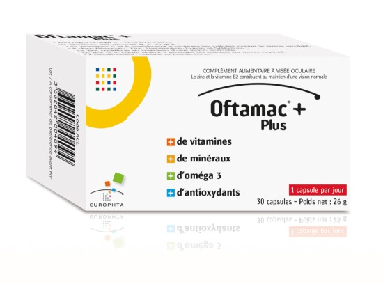 Oftamac Caps Visee Oculaire B 30