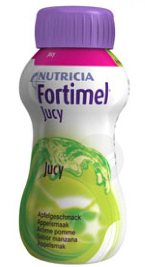 Fortimel Jucy Nutriment Pomme 4 Bouteilles 200 Ml