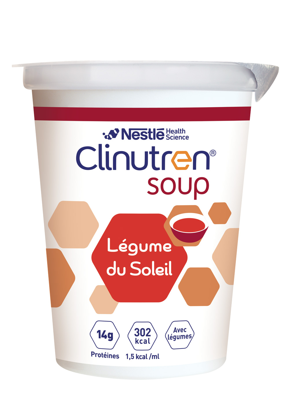 Clinutren Soup Legume Du Soleil 4 X 200 Ml