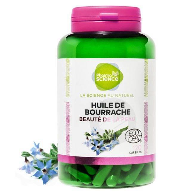 Huile De Bourrache 120 capsules