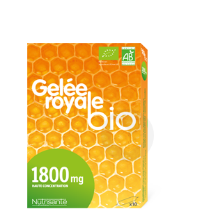 Gelee Royale Bio 10 Ampoules