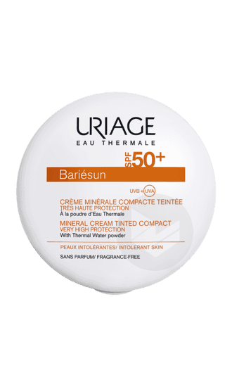 Crème Minérale Compacte Teintée Dorée SPF50+ 10g