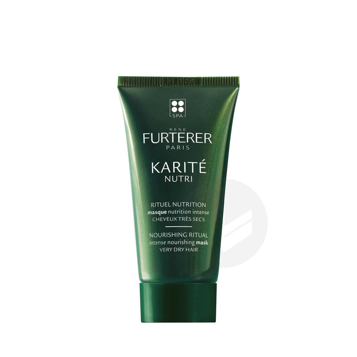 Masque nutrition intense d'exception au beurre de karité 30ml