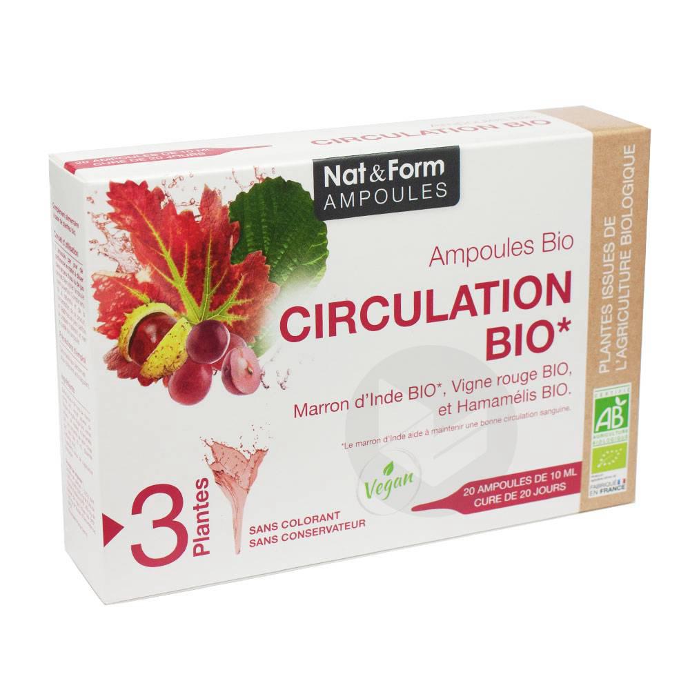 NAT&FORM AMPOULES S buv circulation Bio 20Amp/10ml