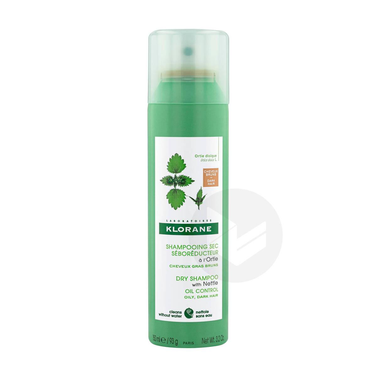 Shampoing secséboréducteur à l'Ortie teinté 150ml