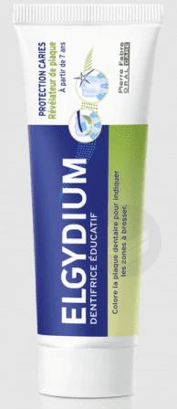 ELGYDIUM PROTECTION CARIES Dentifrice révélateur plaque à partir de 7ans T/50ml