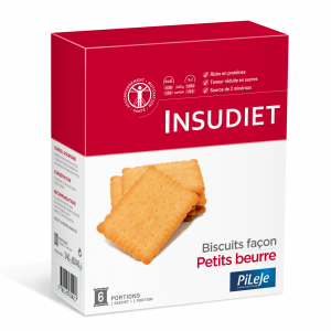 Insudiet Petit Beurre 6 Sach 40 G