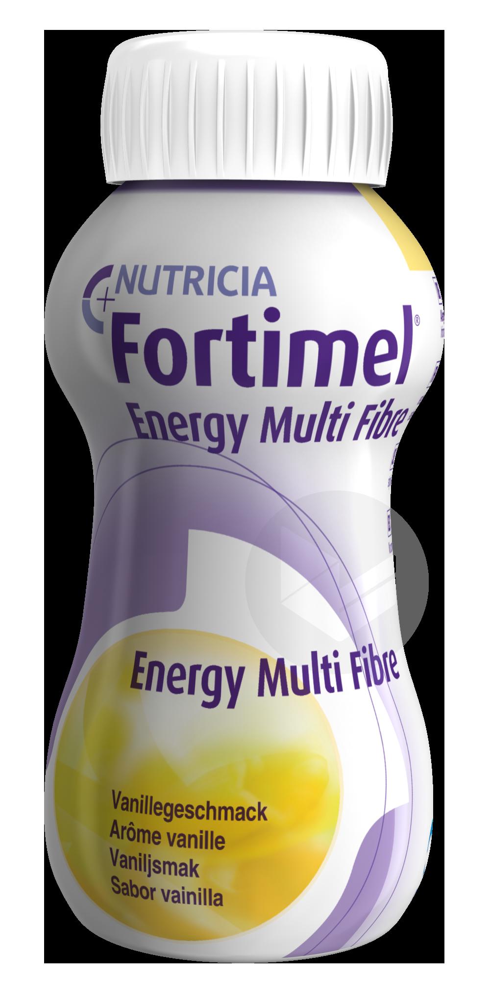 Fortimel Energy Multi Fibre Vanille 200 Ml