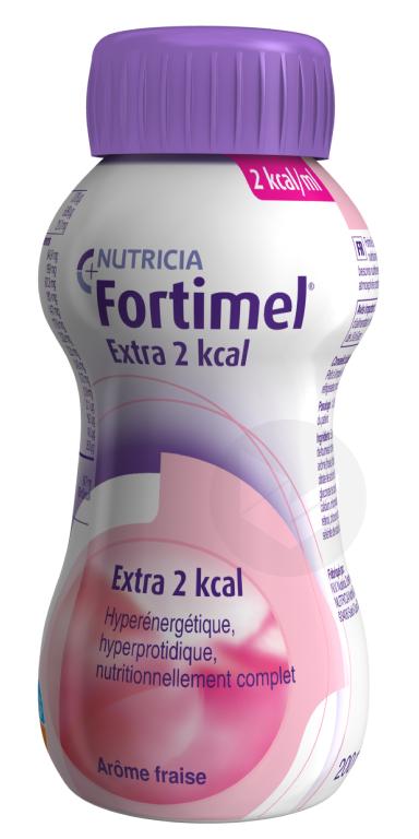 Fortimel Extra 2 kcal Fraise 200 ml