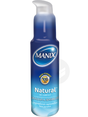 Manix Gel Lubrifiant Naturel T 100 Ml