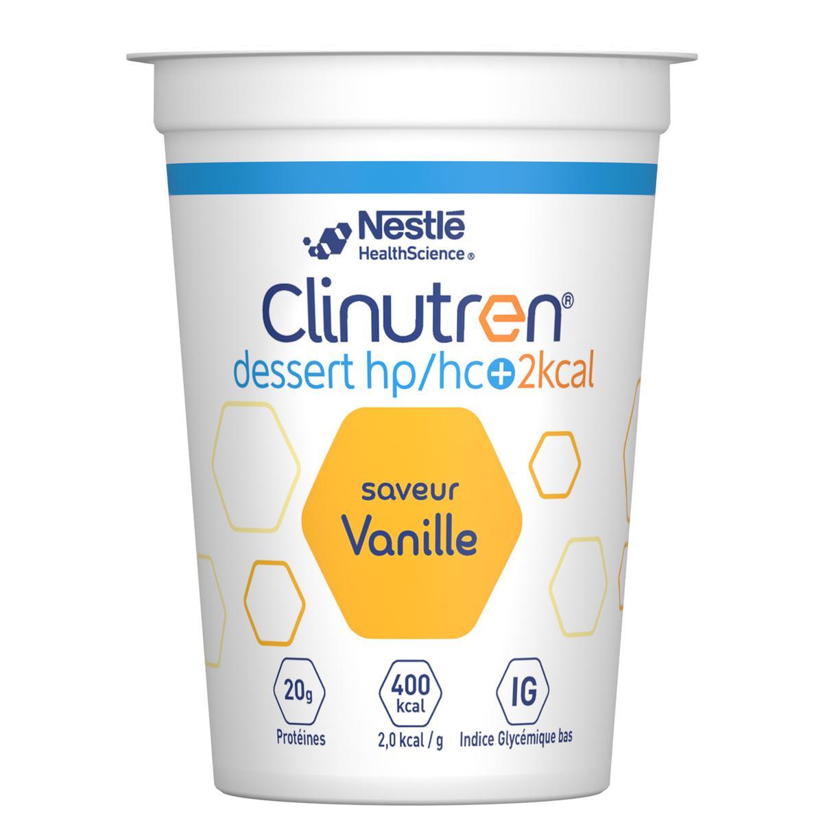 Clinutren Dessert Hp Hc 2 Kcal Vanille 4 X 200 G