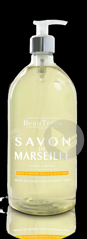 Savon De Marseille Liquide Surgras Amande Douce 1 L