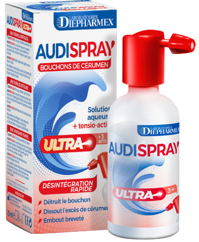 Audispray Ultra S Aur Fl Pompe Doseuse 20 Ml