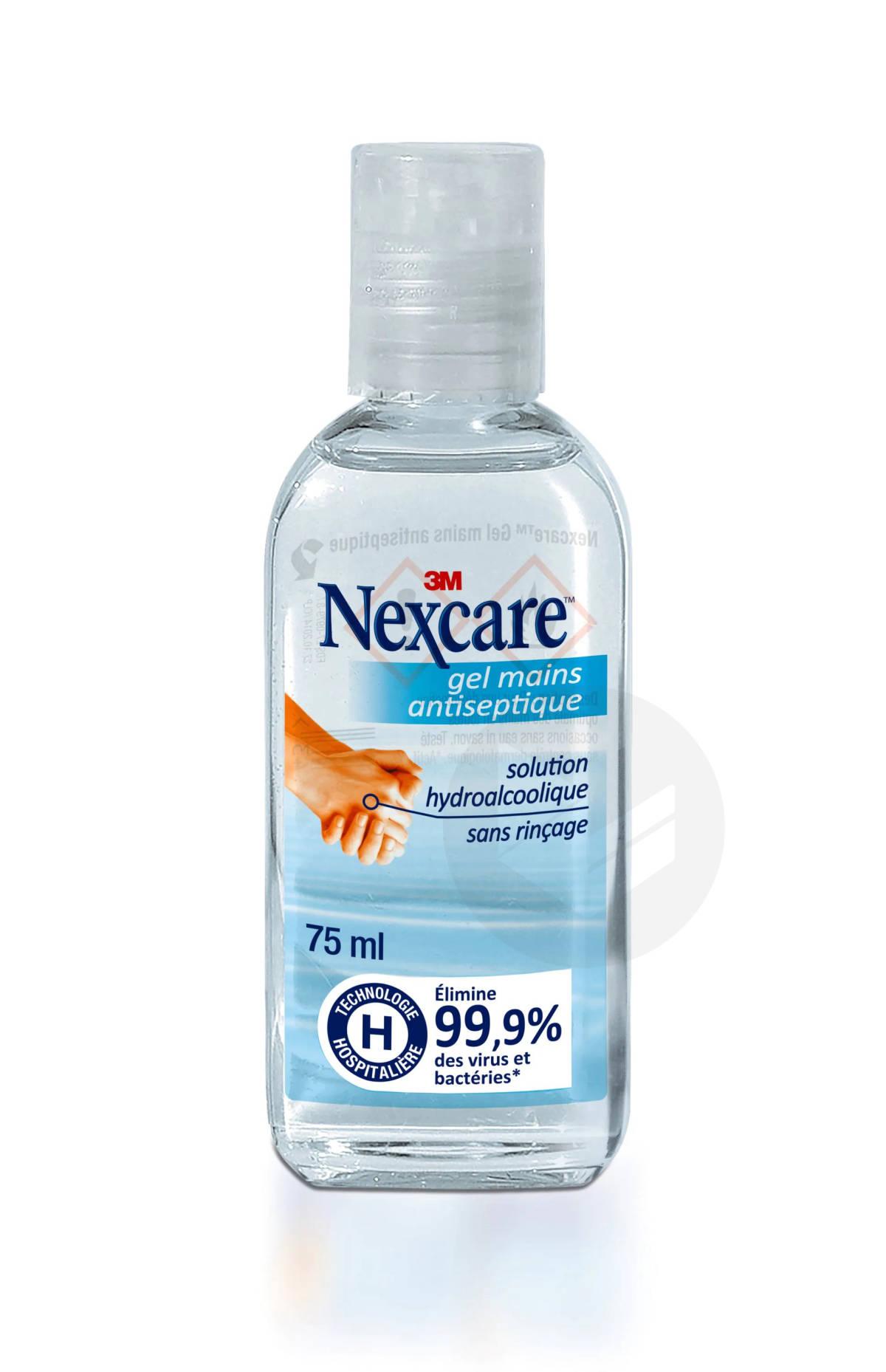 Nexcare Gel Mains Antiseptique 75 Ml