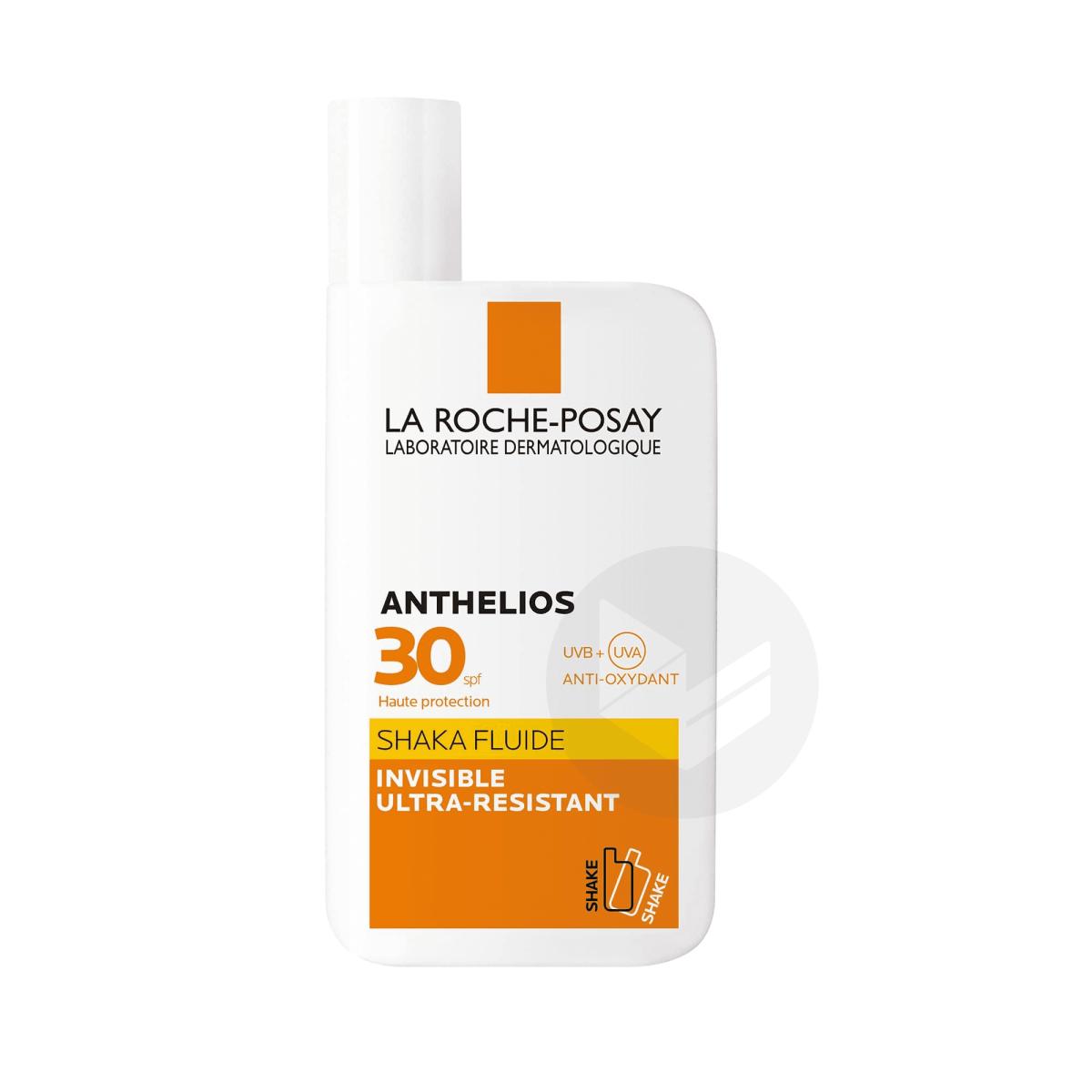 Anthelios Crème Solaire en Fluide SHAKA SPF30 Avec Parfum 50ml
