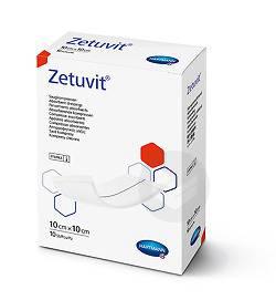 Zetuvit E Pansement absorbant stérile 10x10cm x10