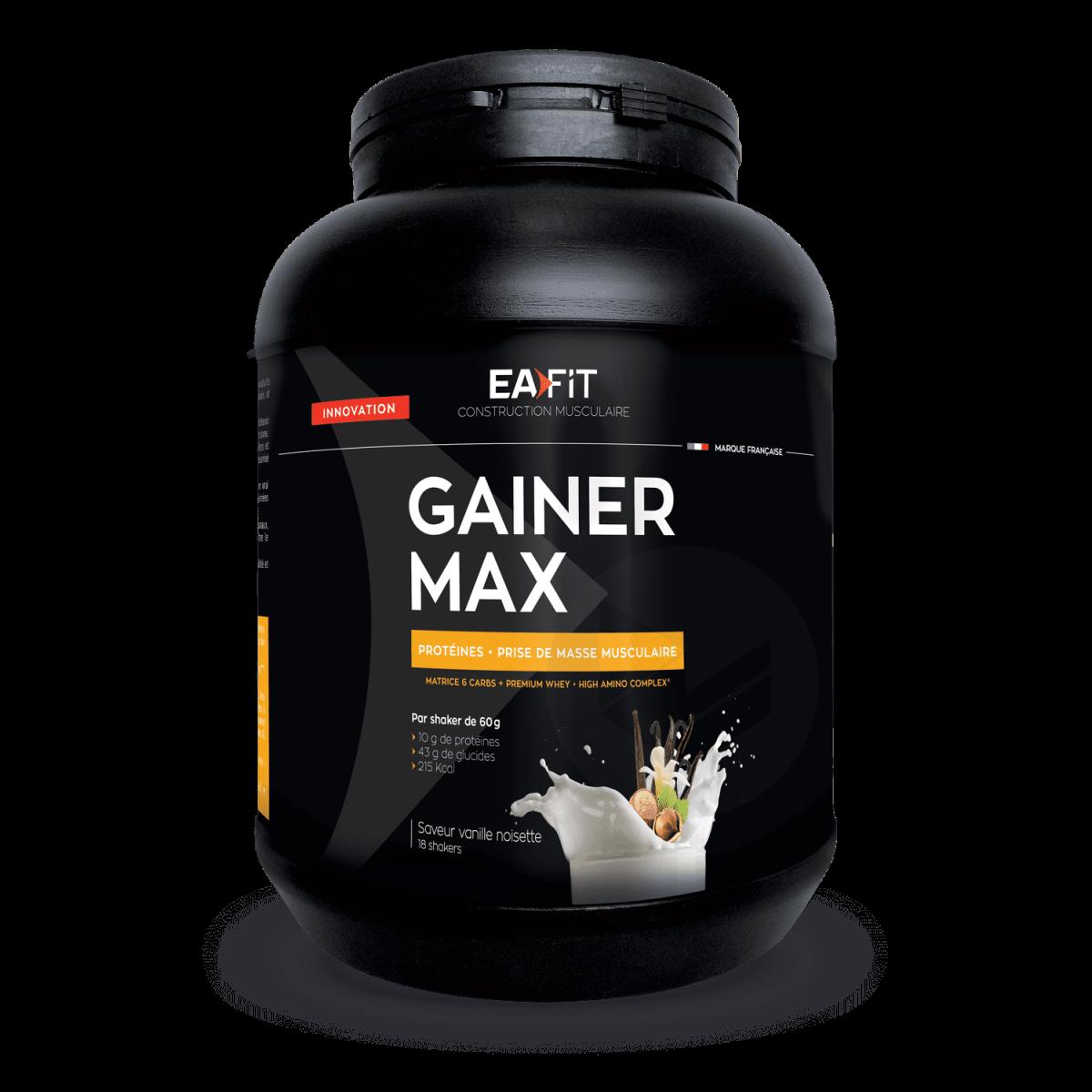 GAINER MAX Vanille noisette 1,1 kg