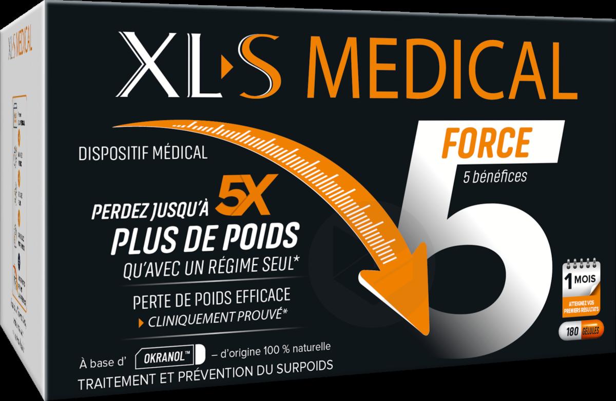 Xl S Medical Force 5 180 Gelules